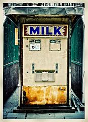 maquina vending de leche
